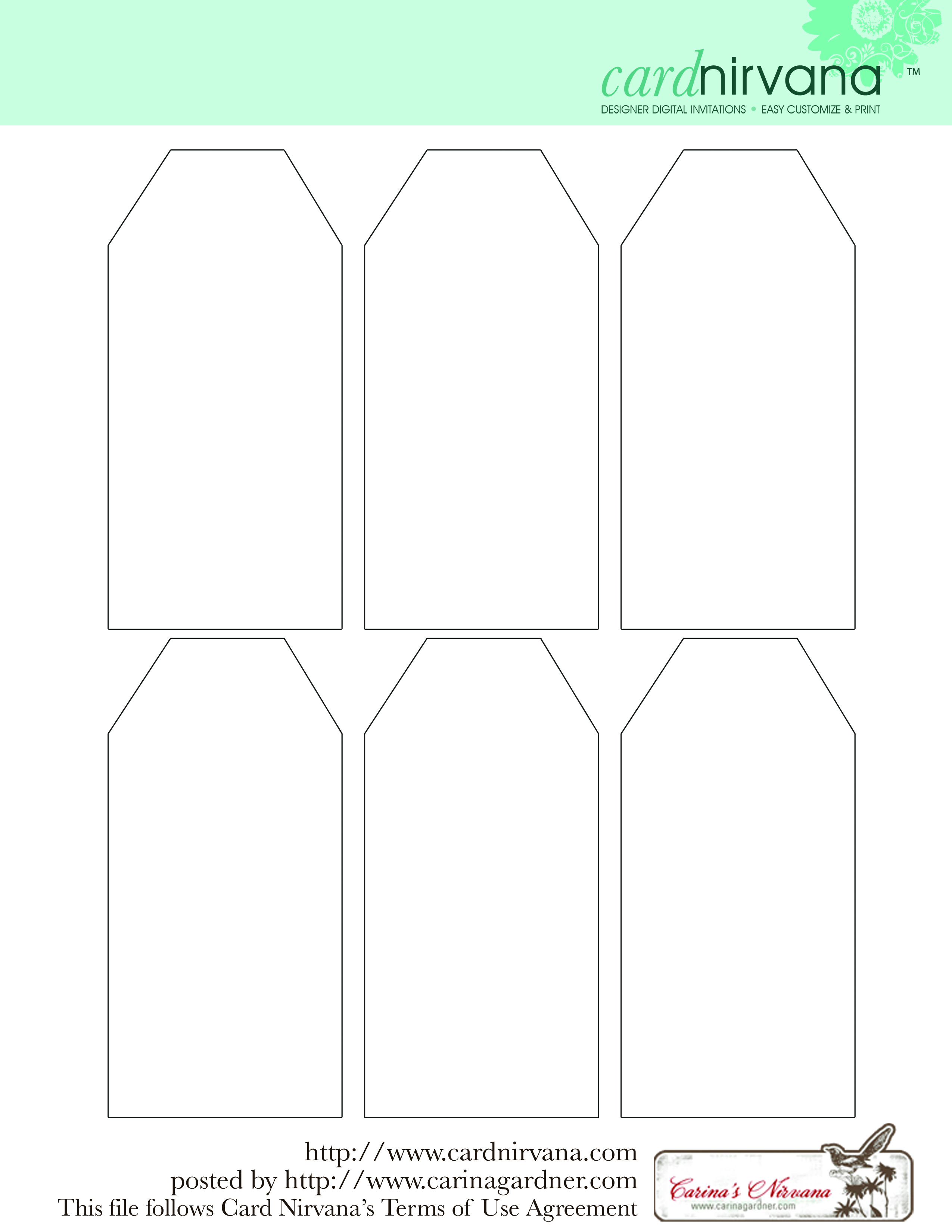 Free Printable Name Tags Templates