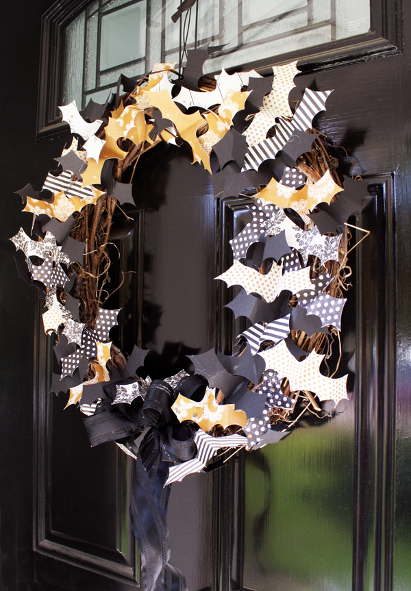 Spider S Web Papers Batty Wreath