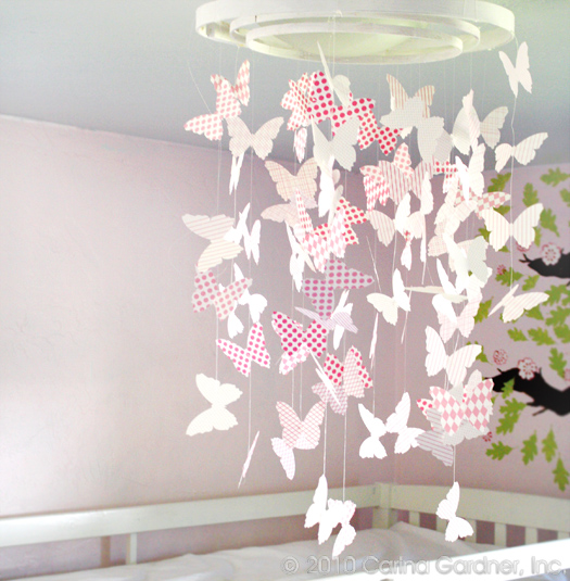 How to make a butterfly chandelier free download i made this fun little chandelier for my girls room a month ago using my back to basics digital line its been a cute addition to their room aloadofball Choice Image