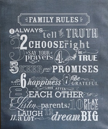 Family_Rules_Plaque_detail