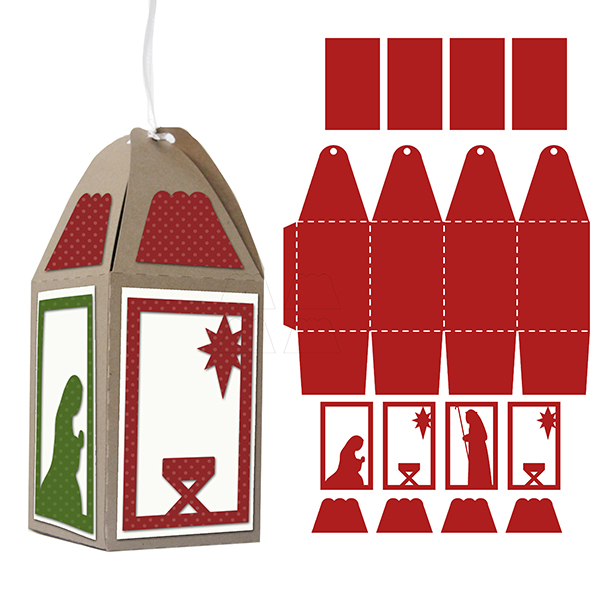 nativity4sidedornament