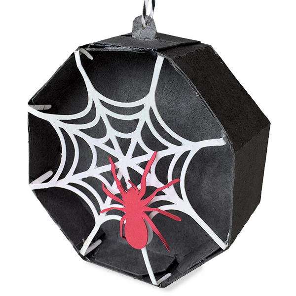 DS-C-8.6824W-CG-Spider Ornament