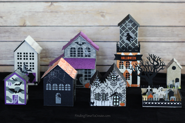 halloween-village-finding-time-to-create