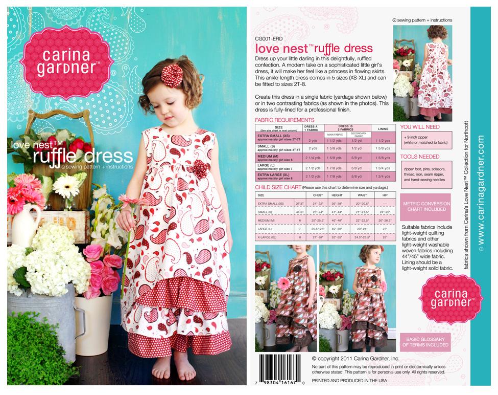 Ruffle Dress Pattern Catalog Of Patterns